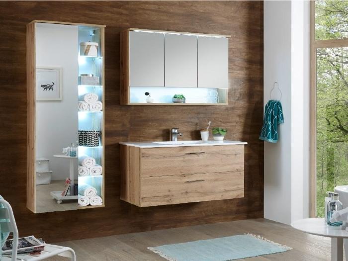 Badezimmer Oak Best in Wildeiche zum Bestpreis